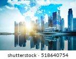 international business concept... | Shutterstock . vector #518640754