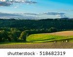 amazing sunset  elbe sandstone... | Shutterstock . vector #518682319