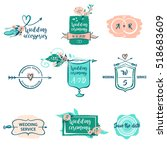 Set Vector Logo Isolated On...