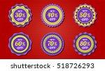 label sticker | Shutterstock .eps vector #518726293
