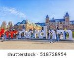 amsterdam  netherlands   april... | Shutterstock . vector #518728954