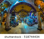 istanbul  turkey   october 13 ... | Shutterstock . vector #518744434