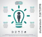 business management  strategy... | Shutterstock .eps vector #518753998