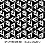abstract geometric seamless... | Shutterstock .eps vector #518780290
