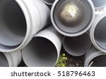 a lot of plastic plumbing pipe | Shutterstock . vector #518796463