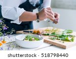 chef cooks meal | Shutterstock . vector #518798440