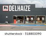 Small photo of TURNHOUT, BELGIUM - OCTOBER 20: Delhaize supermarket, part of Delhaize Group, an international food retailer, Merged with Ahold to Ahold Delhaize NV
