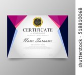 certificate template awards