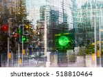multiple exposure effect image. ... | Shutterstock . vector #518810464