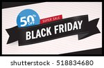 sale  black friday sales ... | Shutterstock .eps vector #518834680