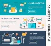 information technologies... | Shutterstock . vector #518835490