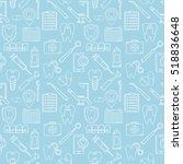 seamless vector pattern in a... | Shutterstock .eps vector #518836648