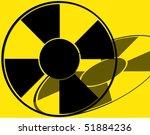 rolling dvd  radioactive | Shutterstock . vector #51884236