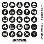 toys for babies  kids  children ... | Shutterstock .eps vector #518865874