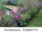 A Colourful Pink Flower Border...