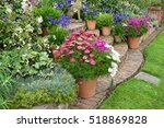 Colourful Garden Terrace With...