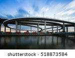 round about highway... | Shutterstock . vector #518873584