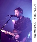 Small photo of The Engine Rooms Southampton - November 3rd 2016: Joel Stoker, lead vocalist and guitarist with The Rifles performing at the Engine Rooms, Southampton, November 3 2016 in Southampton, Hampshire, UK