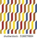 vector seamless pattern.... | Shutterstock .eps vector #518879884