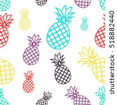 seamless pattern with colorful...   Shutterstock .eps vector #518882440