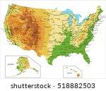 united states of america... | Shutterstock .eps vector #518882503