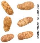 Set Of Long Russet Potatoes...