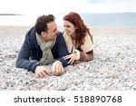 Beautiful Tourist Couple Layin...