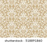 floral pattern. wallpaper... | Shutterstock .eps vector #518891860