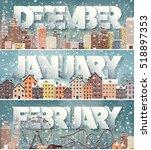 winter cityscape.city...   Shutterstock .eps vector #518897353