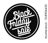 color vintage black friday sale ... | Shutterstock .eps vector #518906650