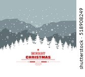 holiday christmas background...   Shutterstock .eps vector #518908249
