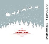 holiday christmas background... | Shutterstock .eps vector #518908270