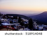 The Town Of Safed In Northern...