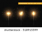 Set of sparklers. Festive Christmas sparkler decoration lighting element.  Magic light isolated effect. For the background of the holiday and birthday