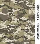 fashionable camouflage pattern  ... | Shutterstock .eps vector #518918086