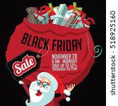 black friday super sale... | Shutterstock .eps vector #518925160