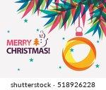 Merry Christmas Card Vector...
