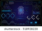 abstract security concept hud...