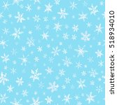 Set Of Watercolor Snowflakes O...