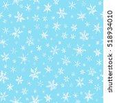 Set Of Watercolor Snowflakes O...