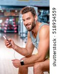 lifestyle portrait of handsome... | Shutterstock . vector #518934559