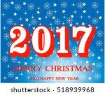 blue christmas shine badge ...   Shutterstock .eps vector #518939968