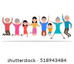 vector illustration cartoon... | Shutterstock .eps vector #518943484