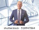 shot of a senior lawyer... | Shutterstock . vector #518947864