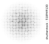 halftone circles  halftone dot... | Shutterstock .eps vector #518949130