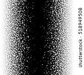 random halftone  pointillism... | Shutterstock .eps vector #518949508
