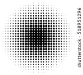 halftone circles  halftone dot... | Shutterstock .eps vector #518951296