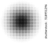 halftone circles  halftone dot... | Shutterstock .eps vector #518951296
