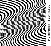 distorted abstract monochrome... | Shutterstock .eps vector #518956690