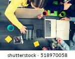 startup business people group... | Shutterstock . vector #518970058